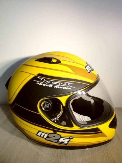 NOVÁ Helma M2R HELMETS MR11 Yellow, vel.: XL