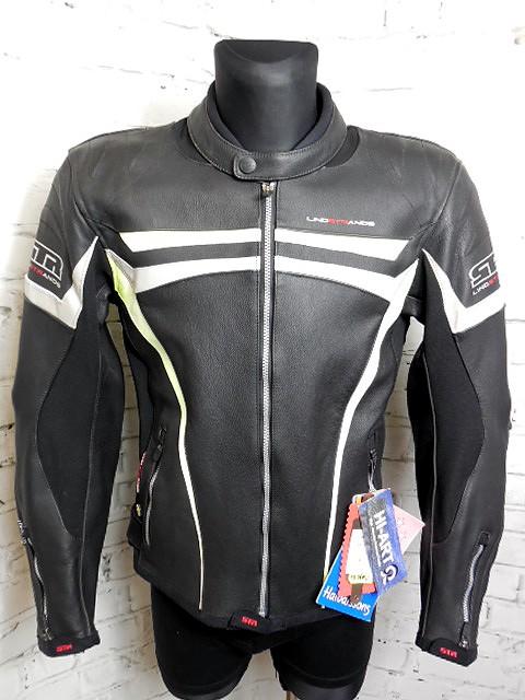 NOVÁ Pánská kožená bunda LINDSTRANDS CHROME s chrániči ebf5d469c3c