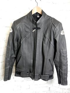 Dámská kožená bunda WINTEX s chrániči 82de1798633